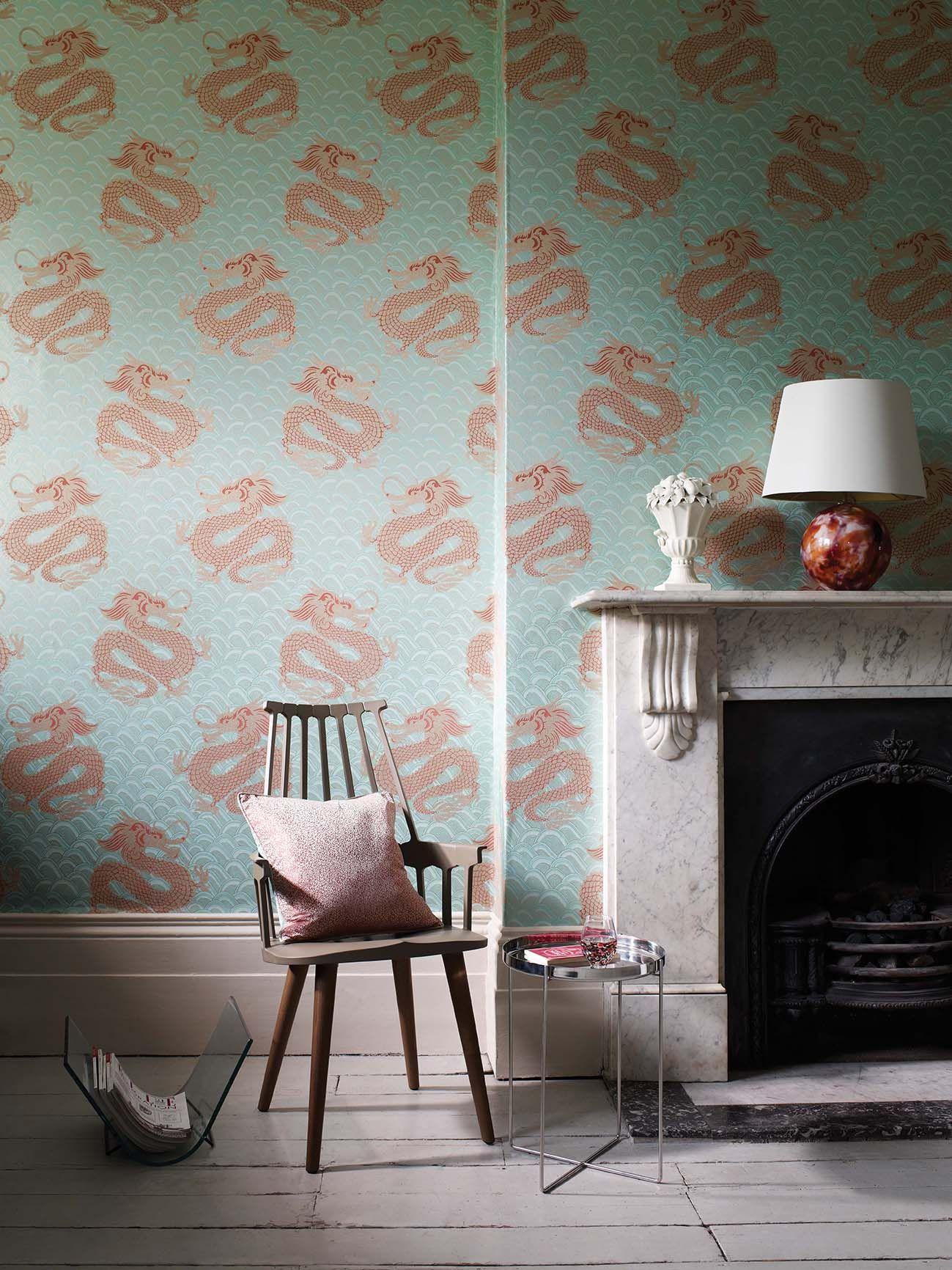 Imperial Home Decor Group Wallpaper Celestial Dragon Wallpaper By Matthew Williamson At Osborne