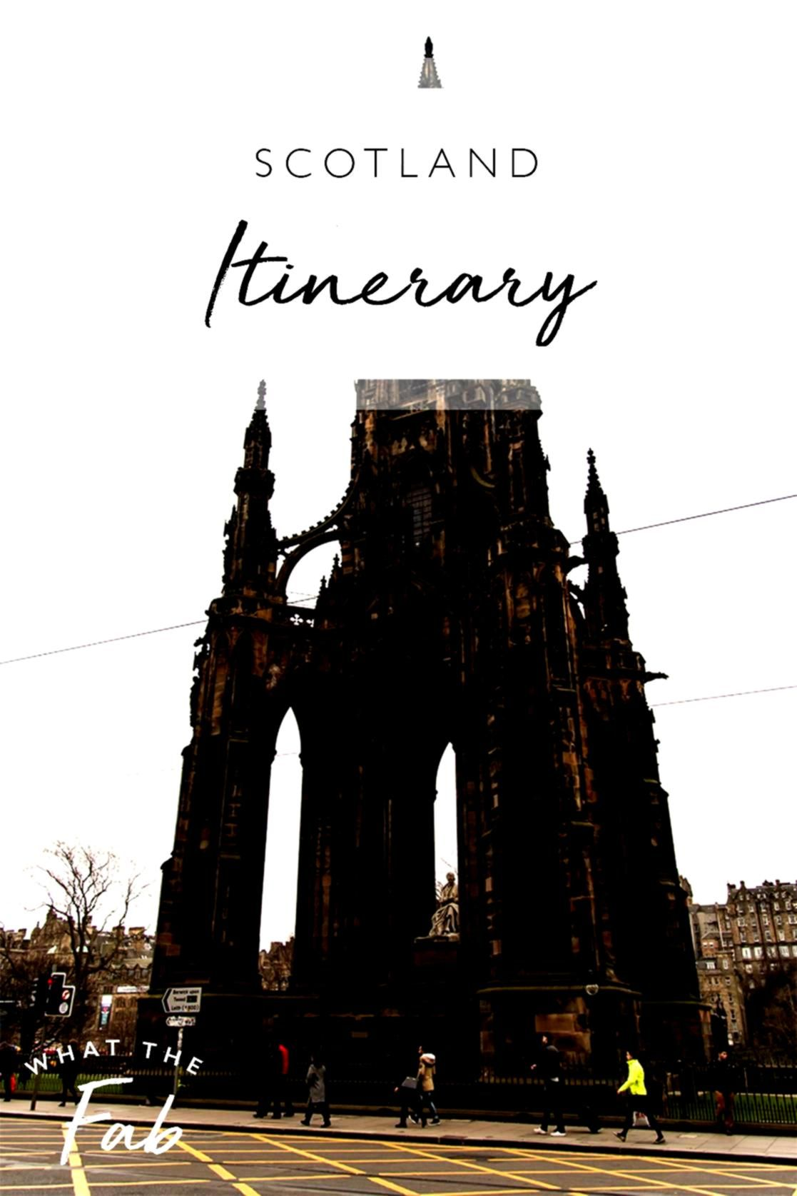 Itinerary Planning a trip to Scotland Be sure to take a look at my three day itinerary with the most gorgeous views and most fun places to explore scotland  scotland trav...