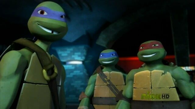 Mikey is always bait! :) Donnie, Leo, and Raph are SOOOOO attractive