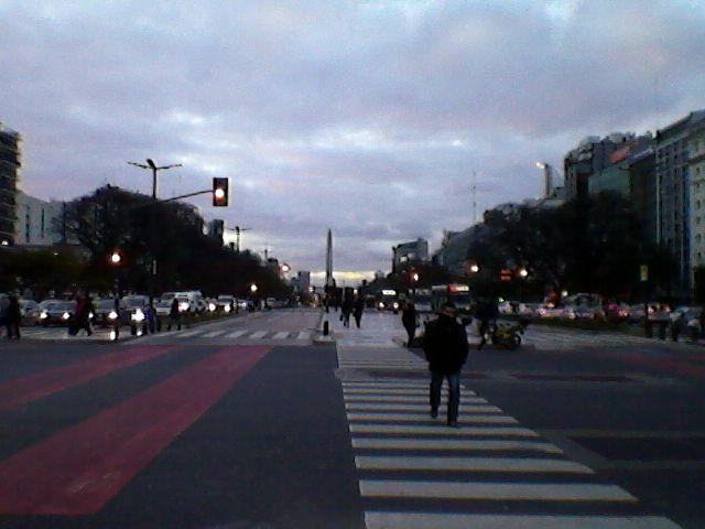 Avenida 9 de Julio.