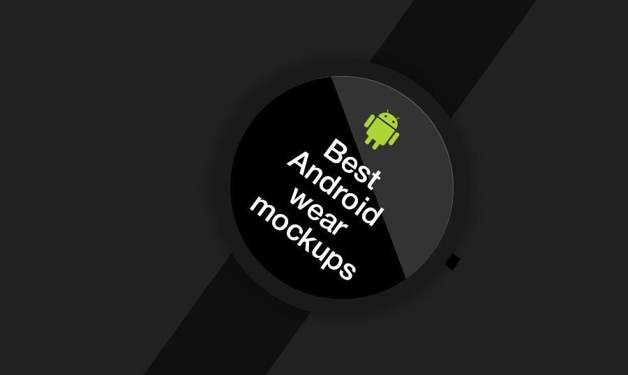 20 meilleures maquettes #PSD pour votre #AndroidWatch  #blogging