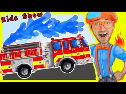 Videos For Children - Fire Truck Nursery Rhymes Playlist ...