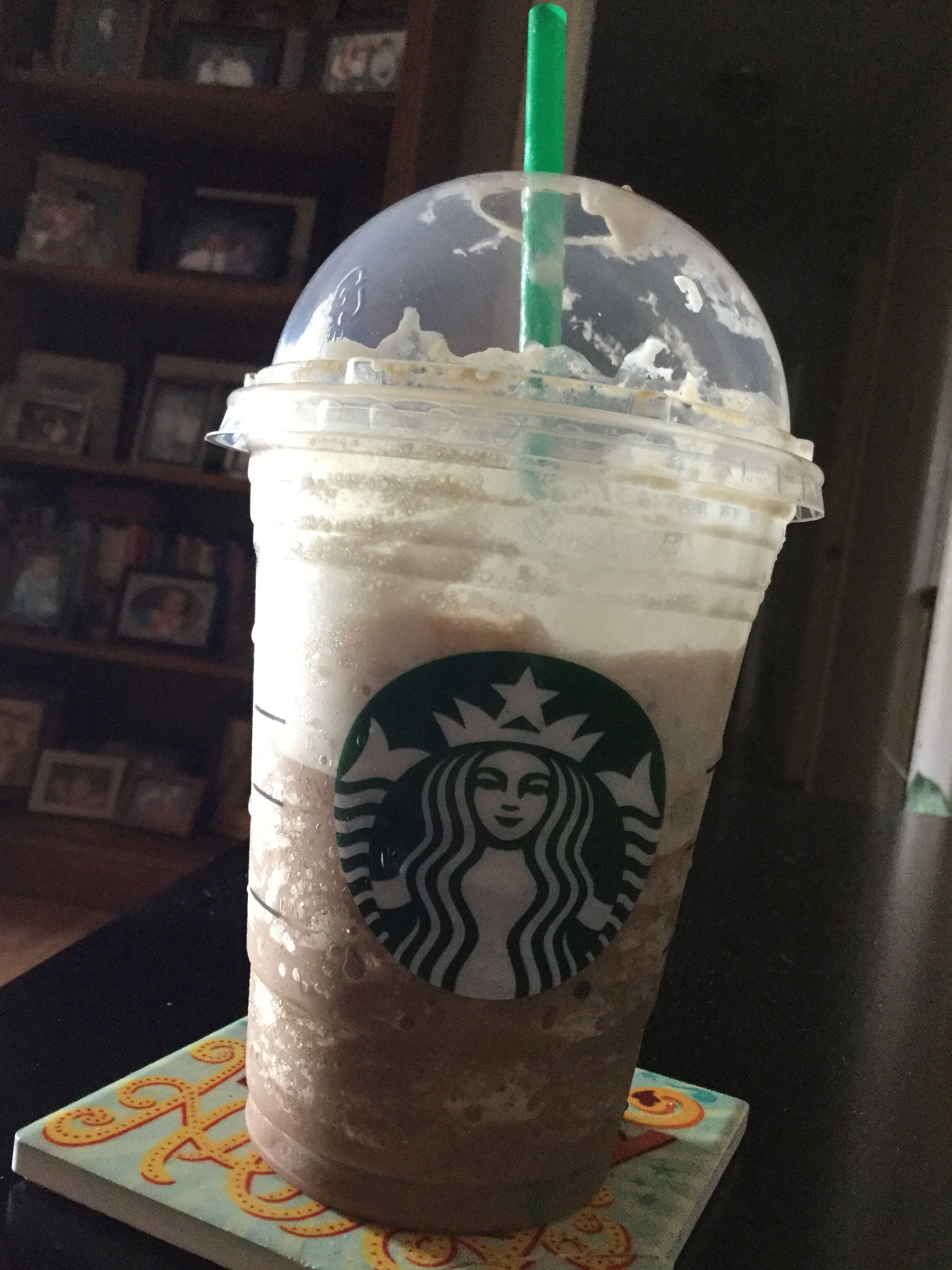 A mocha frappuccino from starbucks starbucks mocha