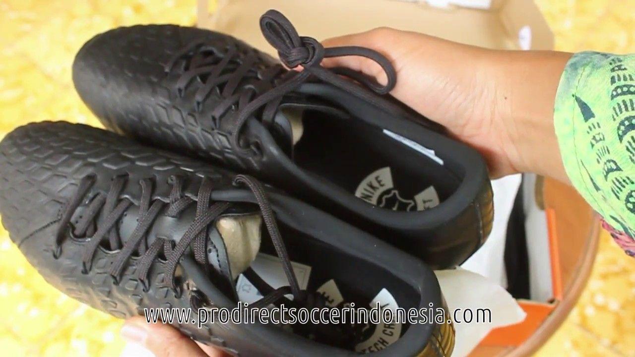 Sepatu Bola Nike Hypervenom Phantom 3 Tc Fg Black White 917759 001