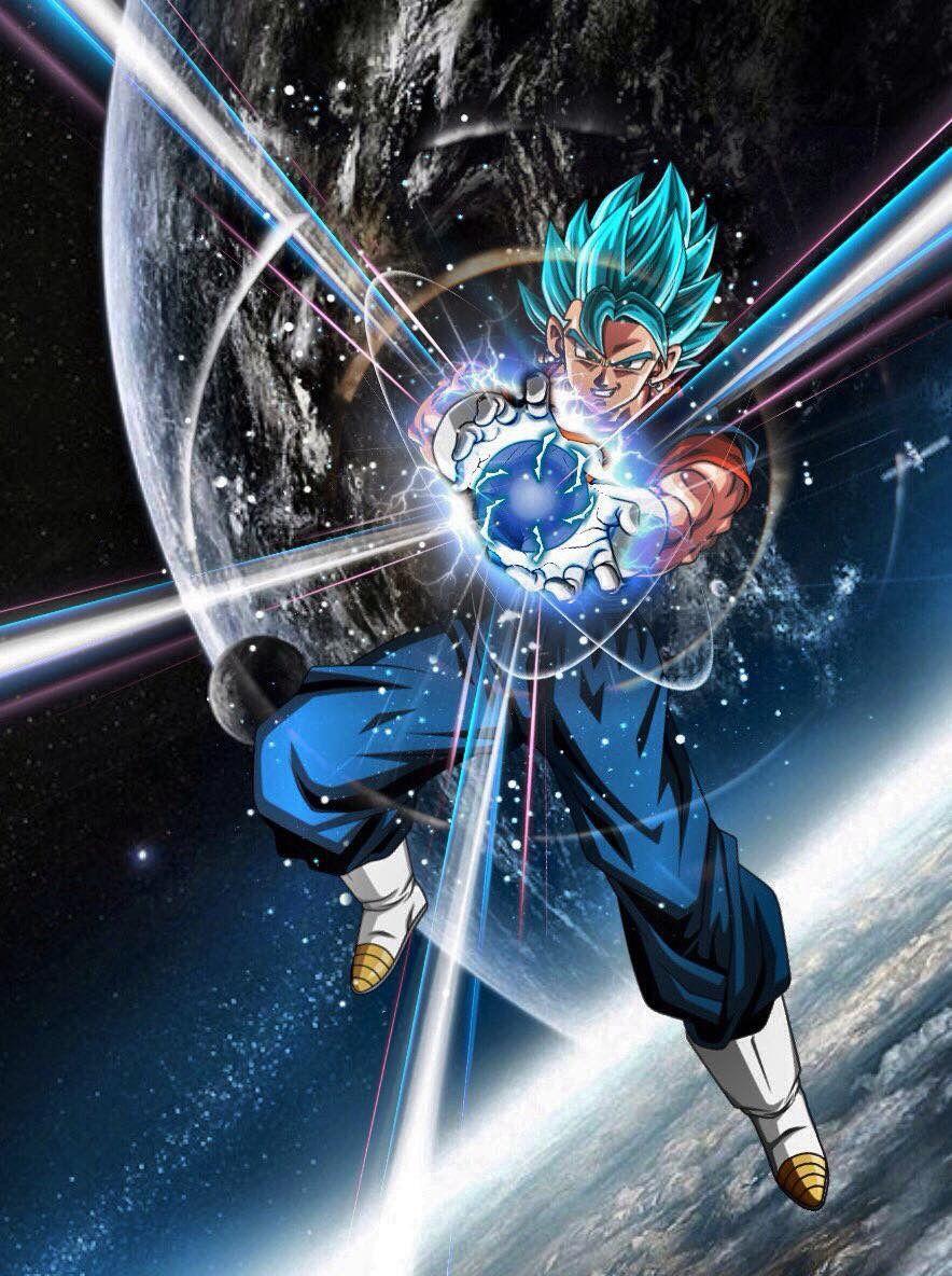 Vegito Final Kamahame Dragon Ball Super Goku Anime Dragon Ball Dragon Ball Goku