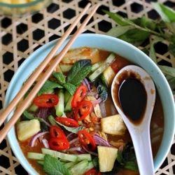 Malaysian penang laksa easier than it looks food pinterest to food with love penang assam laksa malaysian forumfinder Gallery