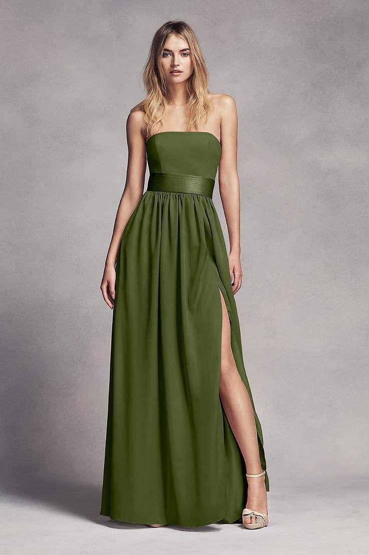 0b08a766316 View Modern Strapless Straight Bridesmaid Dress at David s Bridal ...