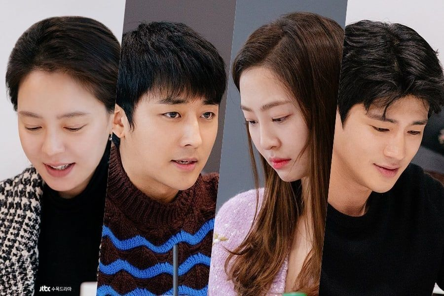 Song Ji Hyo, Son Ho Jun, Dasom, Koo Ja Sung, + More Attend 1st Script Reading For New Rom-Com Drama