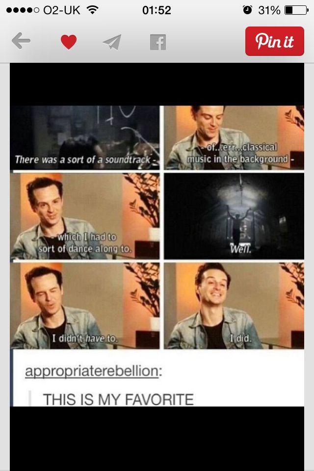 This Is Why Andrew Scott Is Amazing Sherlock Holmes Sherlock Sherlock Fandom