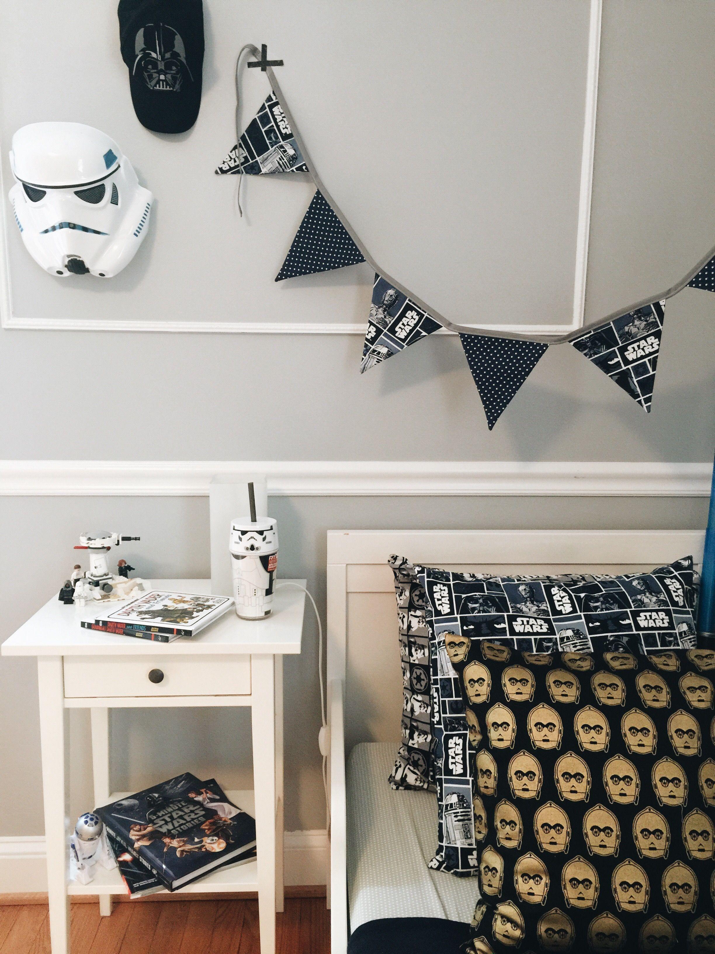 Boys Room , Kids Bedroom , Starwars Bedroom, Jongen ,