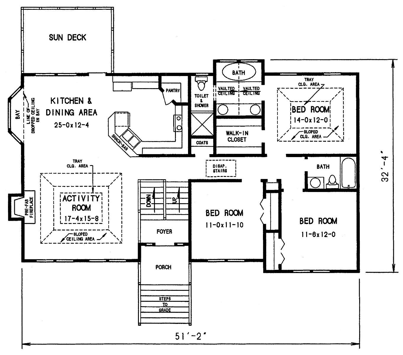 Upper Level Image Of The Dahlonega Split Level Floor Plans Split Level House Plans House Floor Plans
