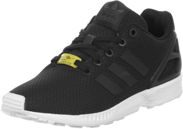adidas zx flux zwart wit