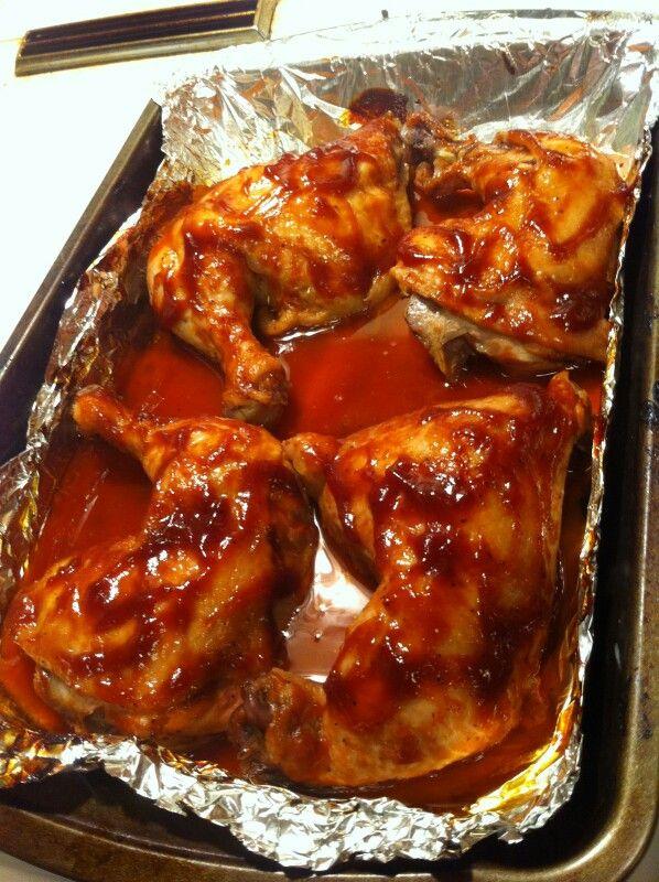 Baked Chicken Recipes Oven Bone In Legs