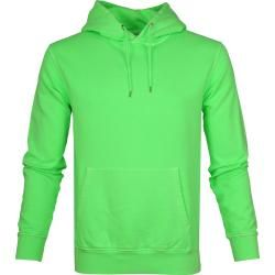 Colorful Standard Hoodie Neon Grün Colorful Standard