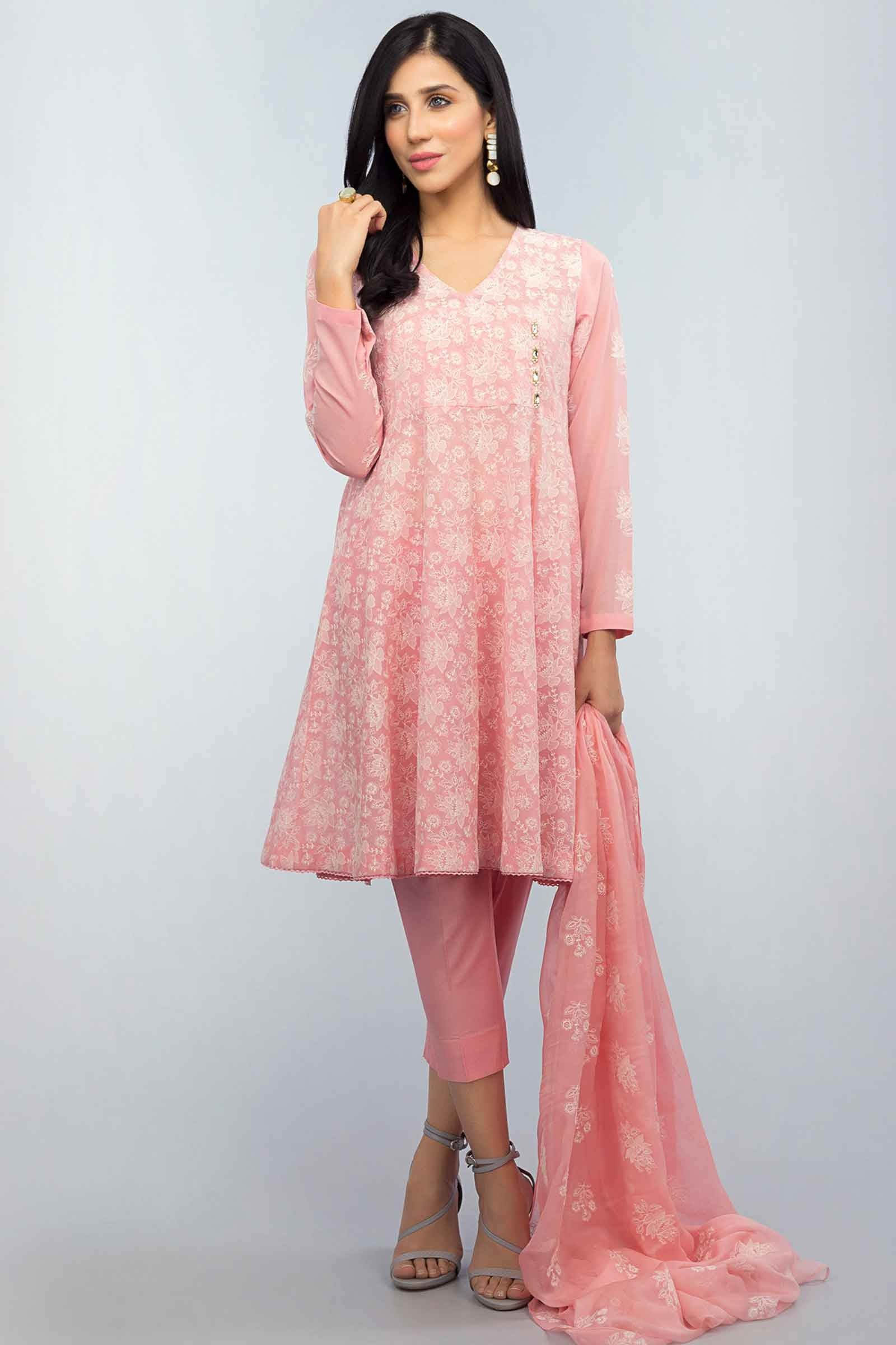 0ea26a699808 Buy Online Pink Lawn Suit at Bareeze Sale 2018 with Price