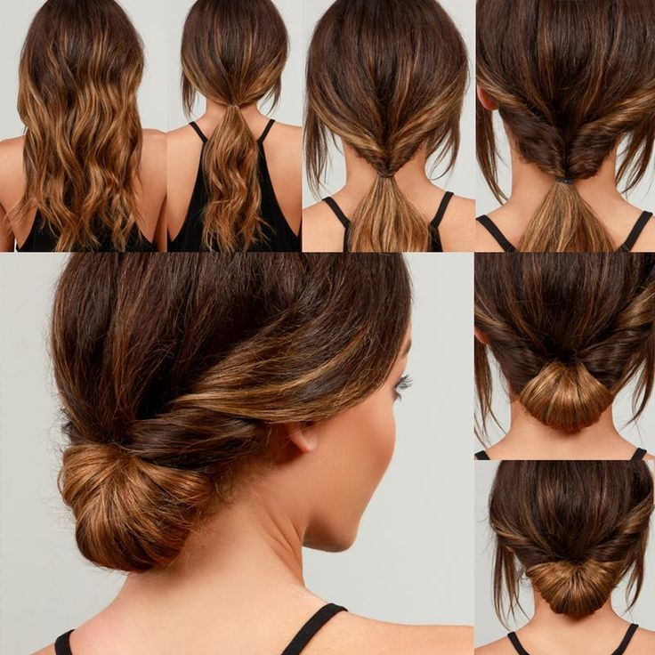 Lulus How-To: Simple Chignon Hair Tutorial - Lulus.com Fashion Blog