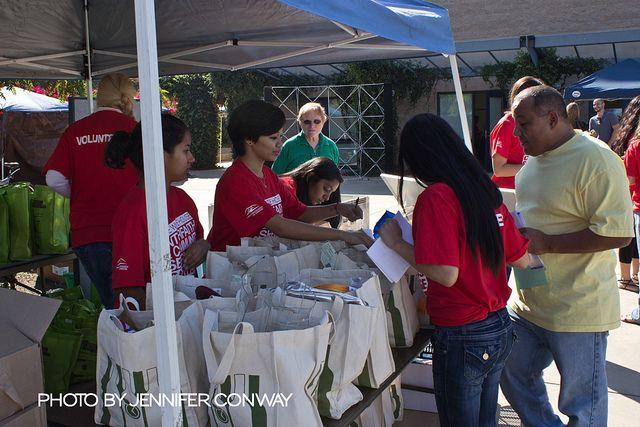 Homeless Connect at CSUSM November 2011