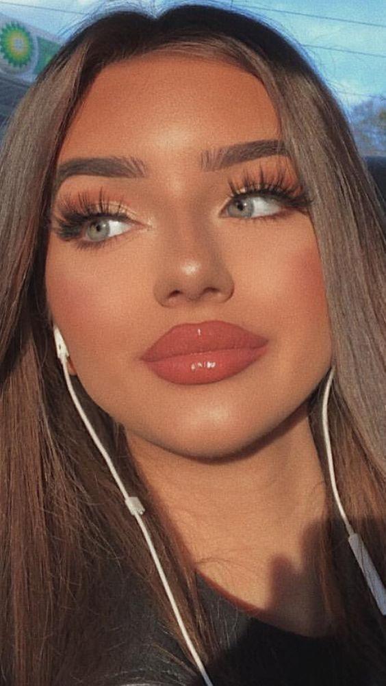 Make-up sehr natürlich