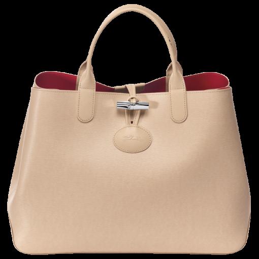 Bags M Reversible Végétalcerise Longchamp Reversible Tote qZw7S