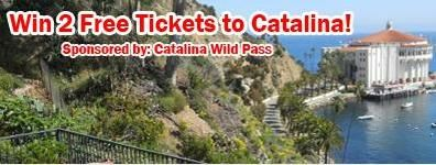 If you live in Southern California, you can win 2 boat tickets to Catalina Island. This is sponsored by the Catalina Island Conservancy.