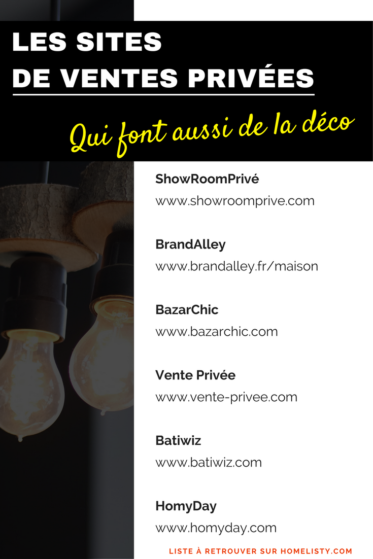 Vente Privee Decoration Ventes Privées Déco Meubles 11 Sites à Connaître En 2019