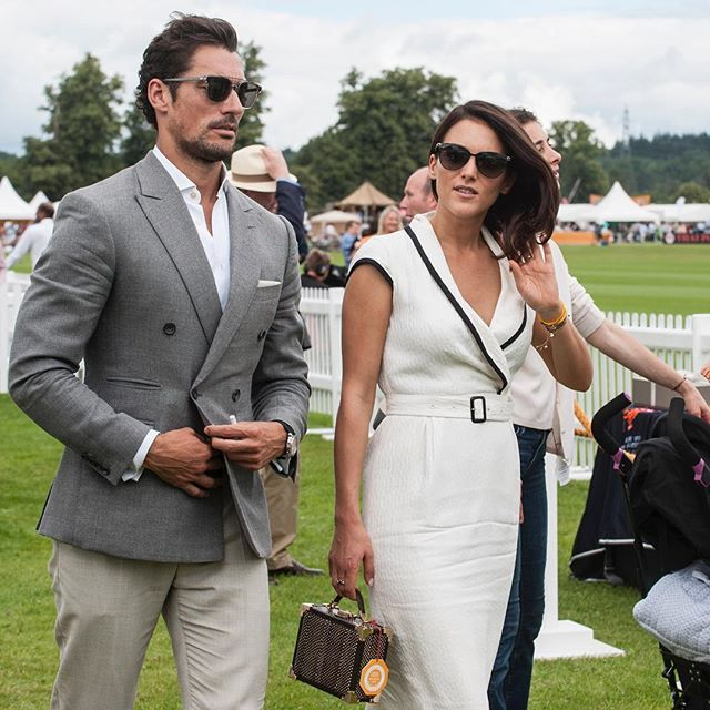 2016 #JaegerLeCoultreGoldCup Final: a special guest visited us in a friendly atmosphere! Honored by your presence @davidgandy_official. #JLCandPolo