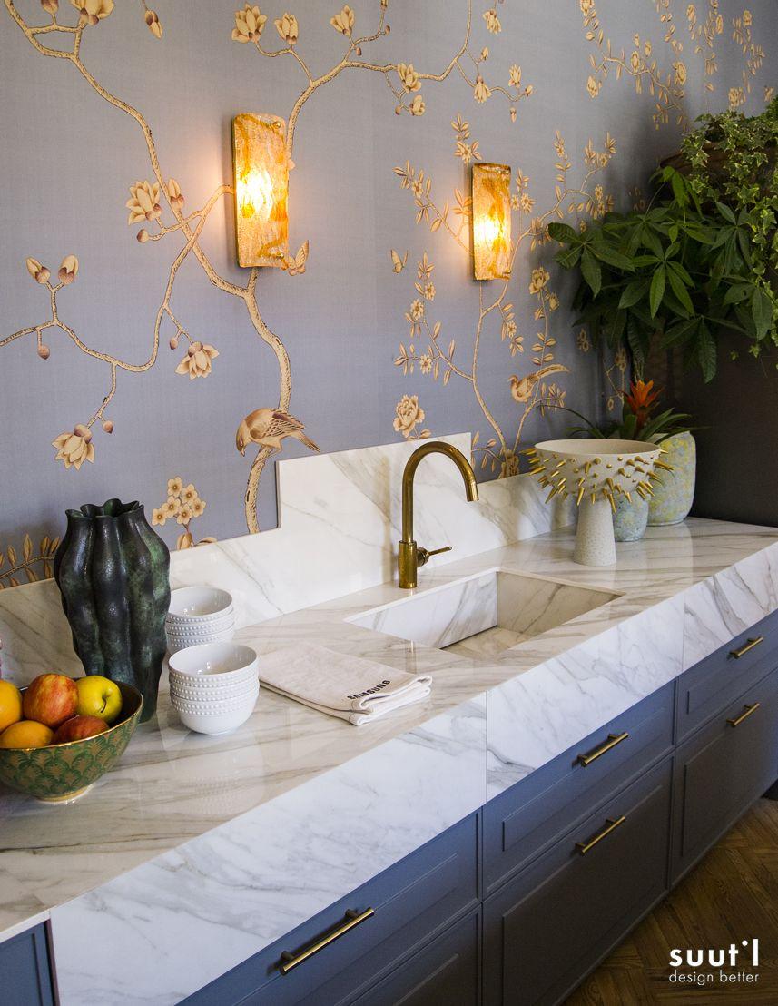 Espacio Samsung Trendy Kitchen Dise Ado Por Beatriz Silveira  # Muebles Leticia Elche