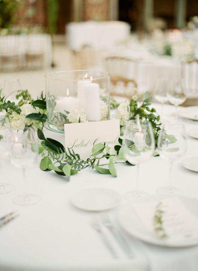 Greg Finck Hochzeit Tischdekoration