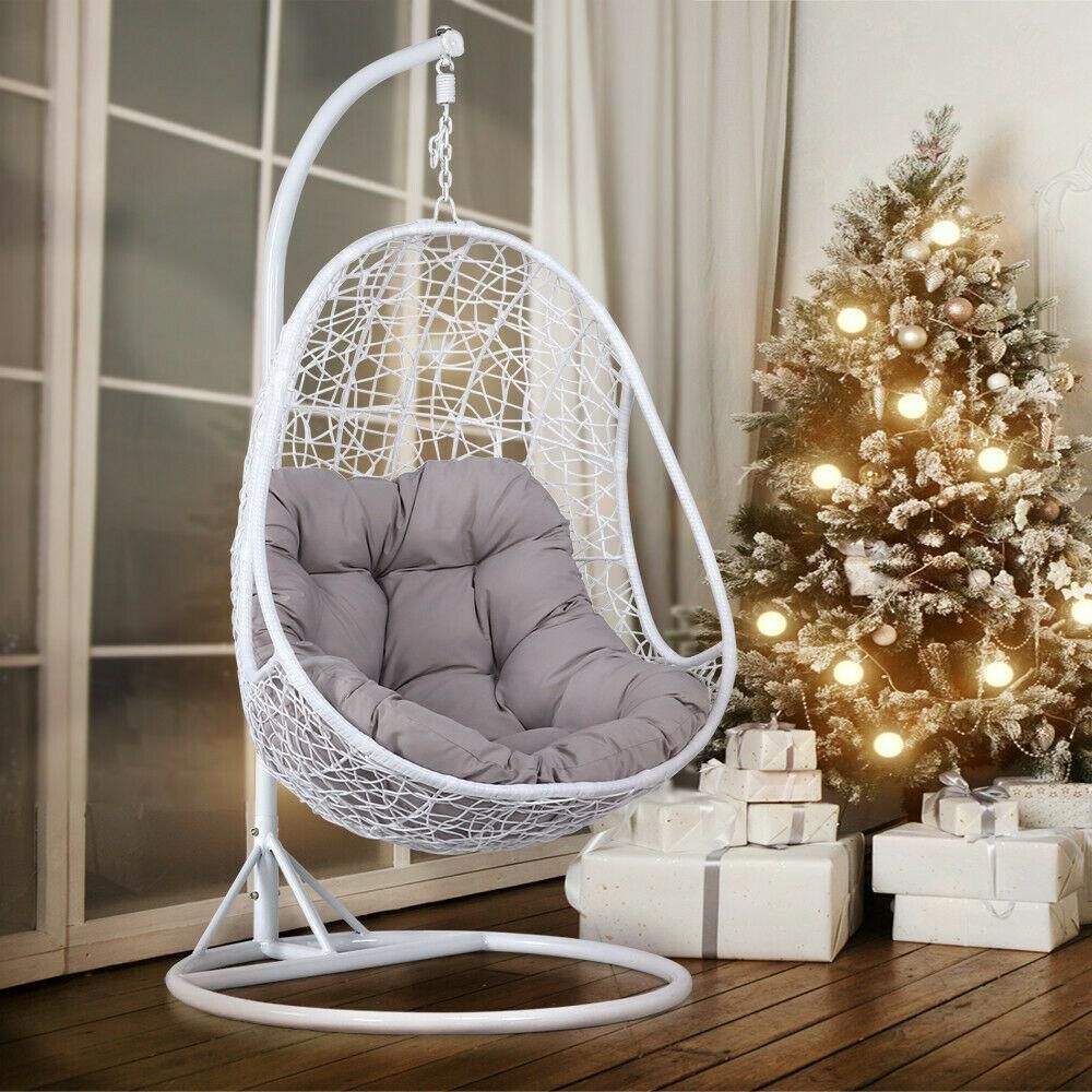 Modern Hanging Pod Egg Swing Chair CoolTecGadgets in