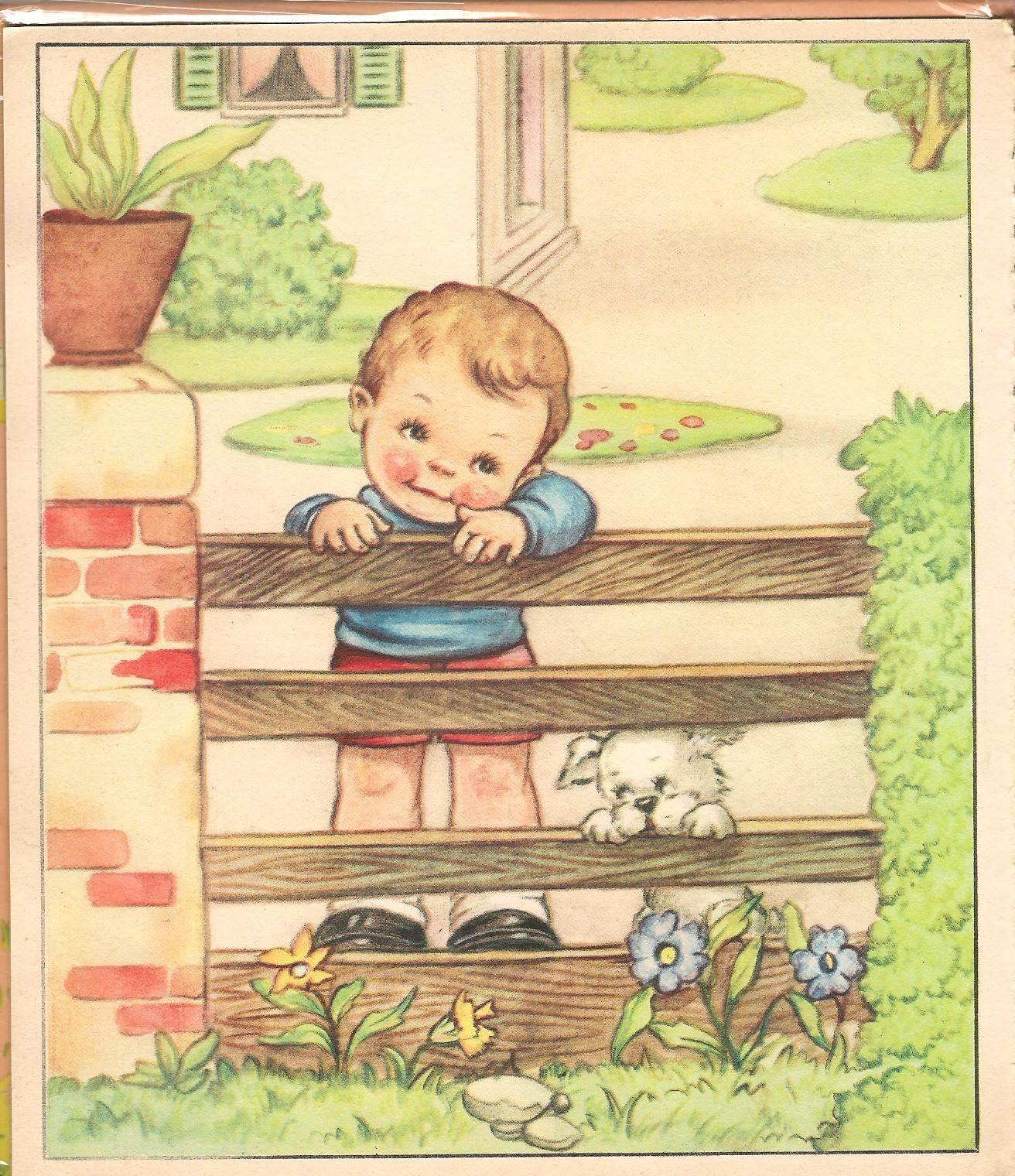 Ilclanmariapia i bambini di mariapia maria pia - Ilustraciones infantiles antiguas ...