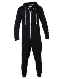 Onesie Plain Onesie Black