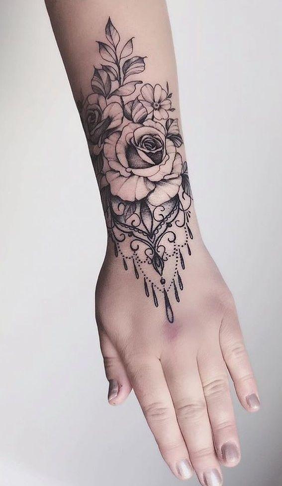 20 Fotos de tatuagens femininas no pulso - Fotos e Tatuagens - Bodypaint, Tattoo , Piercing and Feminist blog