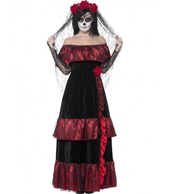 Vestidos del dia de muertos