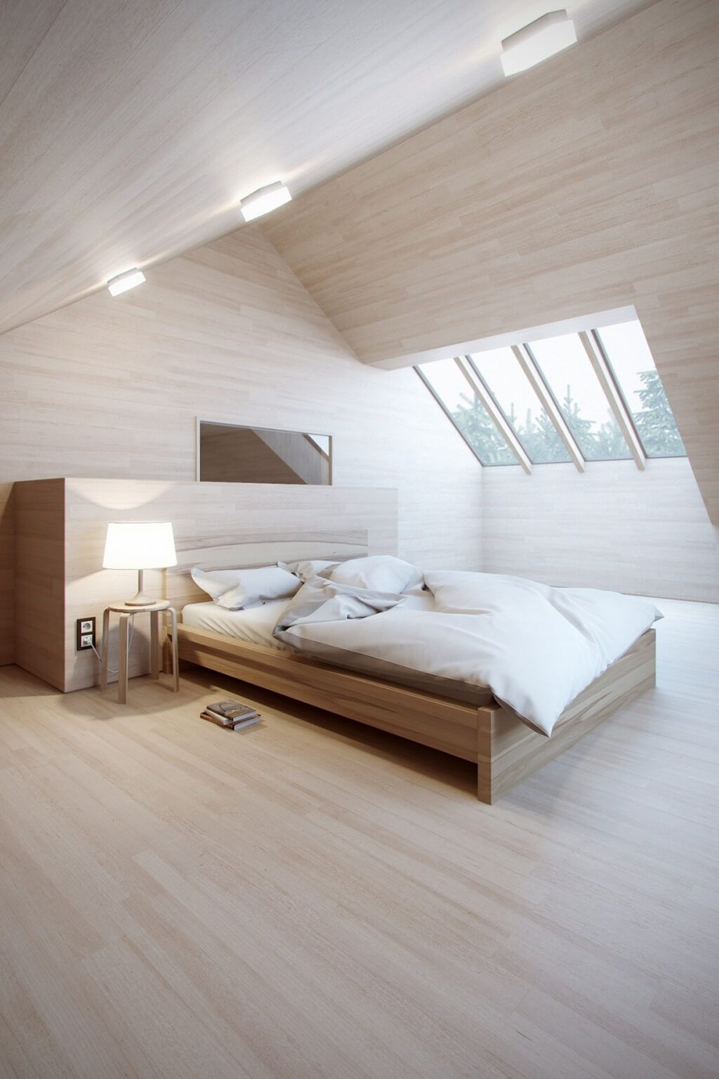 10 Attic Bedroom Ideas 2021 Creative And Awesome Attic Bedroom Designs Minimalist Bedroom Bedroom Design