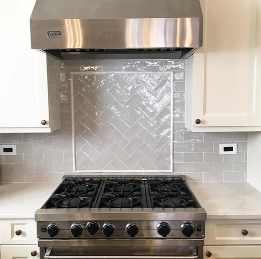 Gray Subway Tile Kitchen: Grey Subway Tile Backsplash