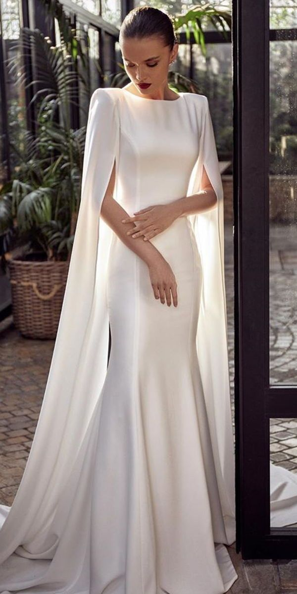 Photo of 27 Awesome Simple Wedding Dresses For Cute Brides