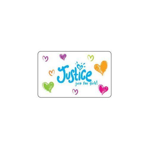 Justice Gift Card Justice Gift Card Gifts Cards