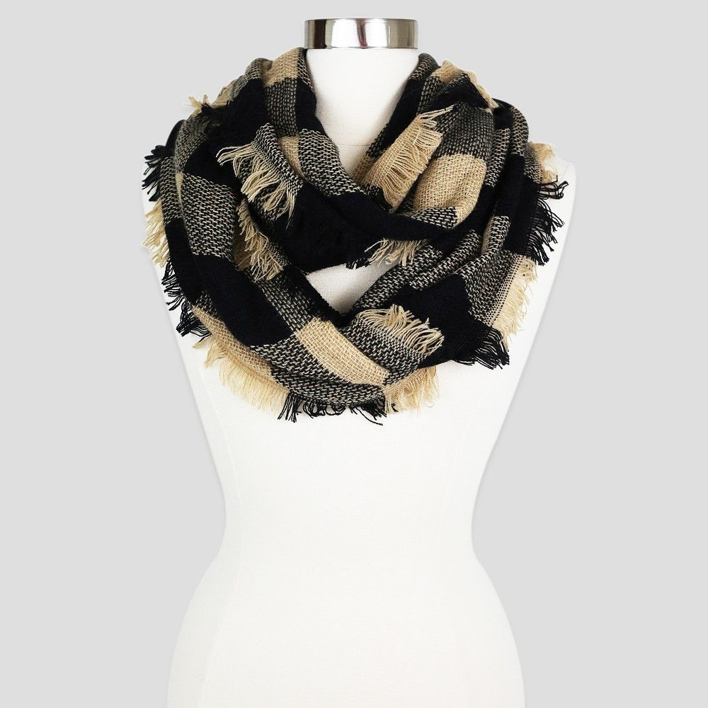 c8877093 Stay warm and fashionable in this Buffalo Plaid Infinity Scarf from ...