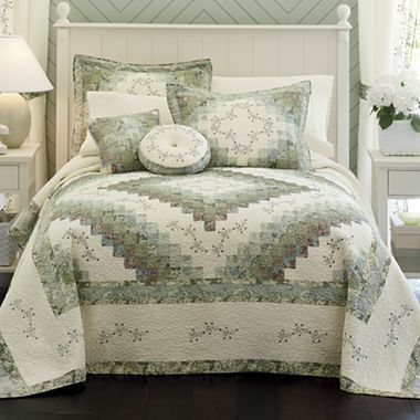 Home Expressions Cassandra Quilted Bedspread Bed Spreads Bed Comforter Sets Luxury Bedroom Design