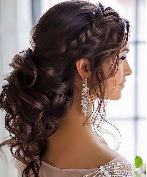 33 Best Women Long Hairstyles for Brides