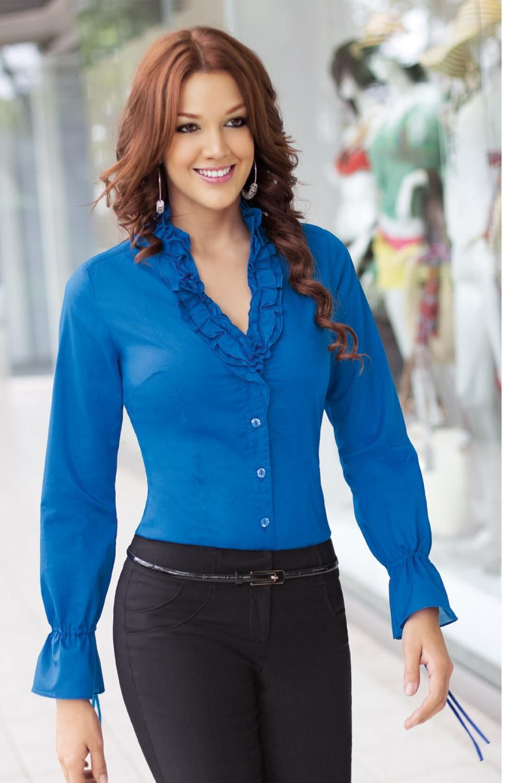 Blusas de moda ¡17 Increíbles modelos Juveniles!  34e1380b17a6