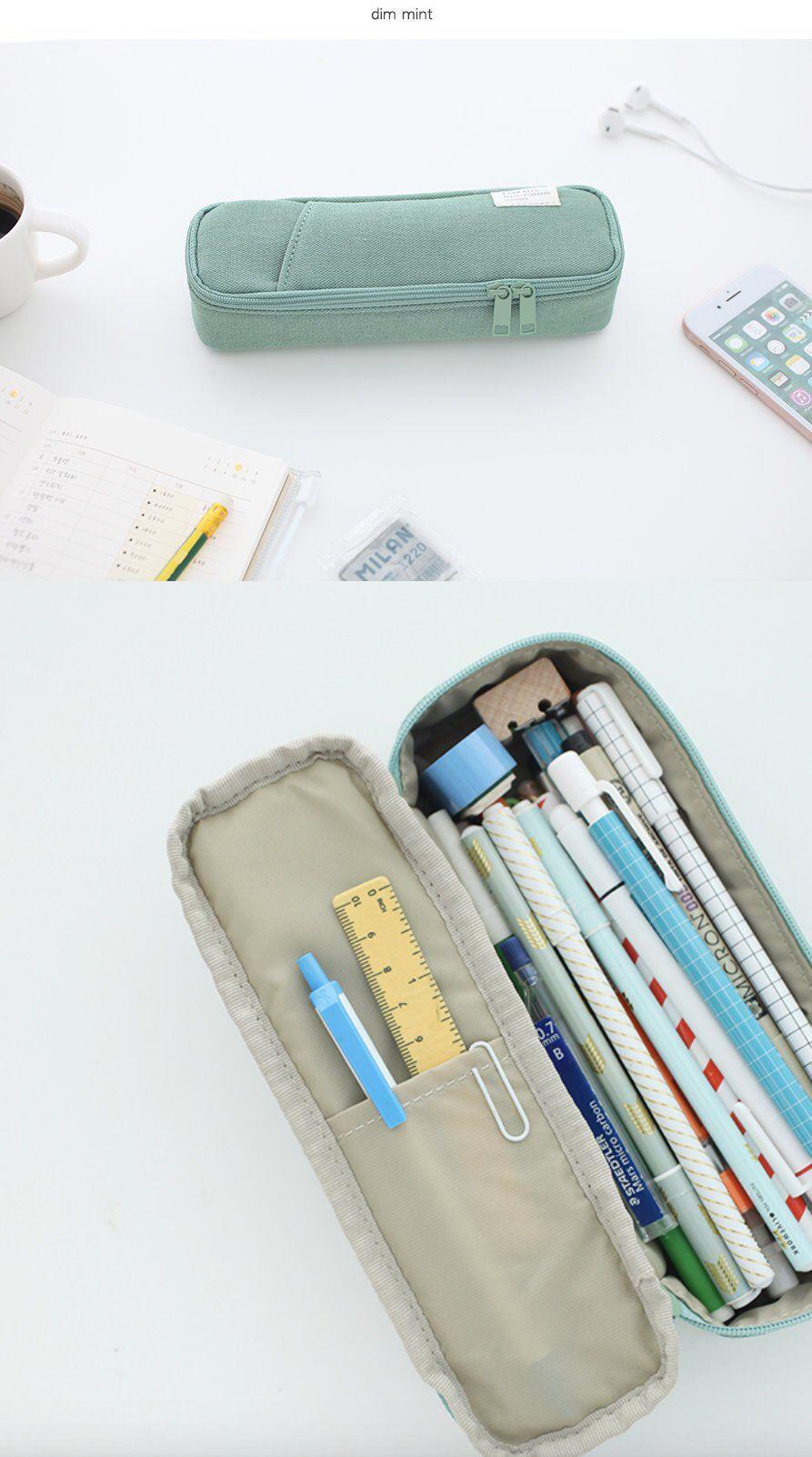 Cotton Pencil Case [6Colors]/ Pen case / Pencil Pouch