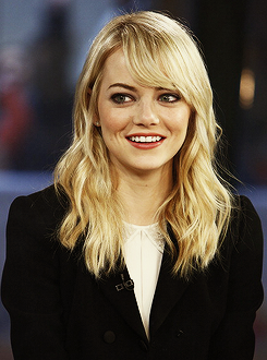 Emma Stone on the Today Show, March 8.