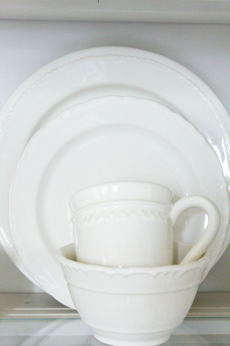 50 white dinnerware sets with farmhouse style