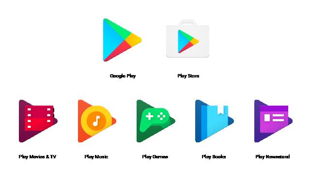 Google Play Icons Just Got A Flat Design Makeover Google Play Apps Family Apps Google Play Gift Card