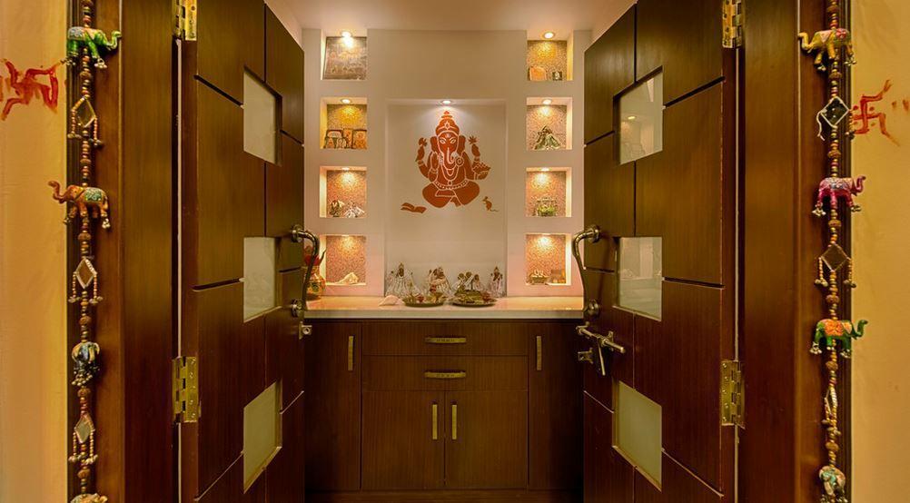 Pooja Room Designs In Hall   Pooja Room   Home Temple   Pooja Ghar   Pooja  Mandir   Pooja Room Designs   Pooja Room Ideas   Pooja Mandap
