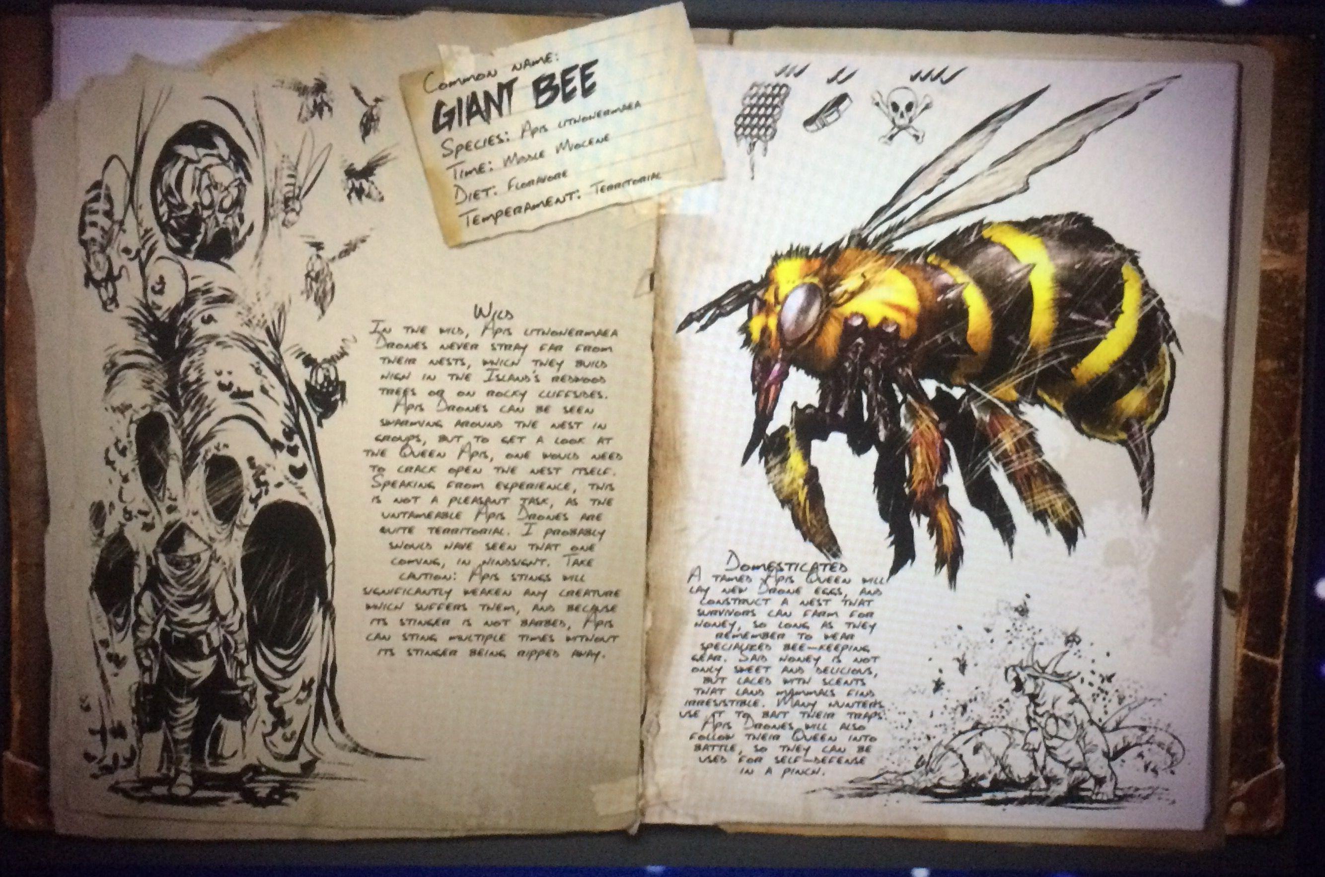 Giant bee - ark survival evolved