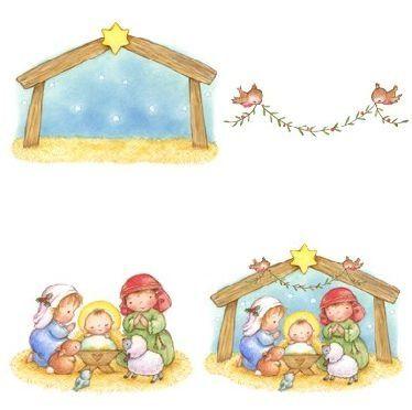 Todorecortables Sueños De Papel Todo Navidad Recortables Papá Noel Portal De Belén Para Recortar Cajitas Navidad Niños Manualidades Manualidades Navideñas