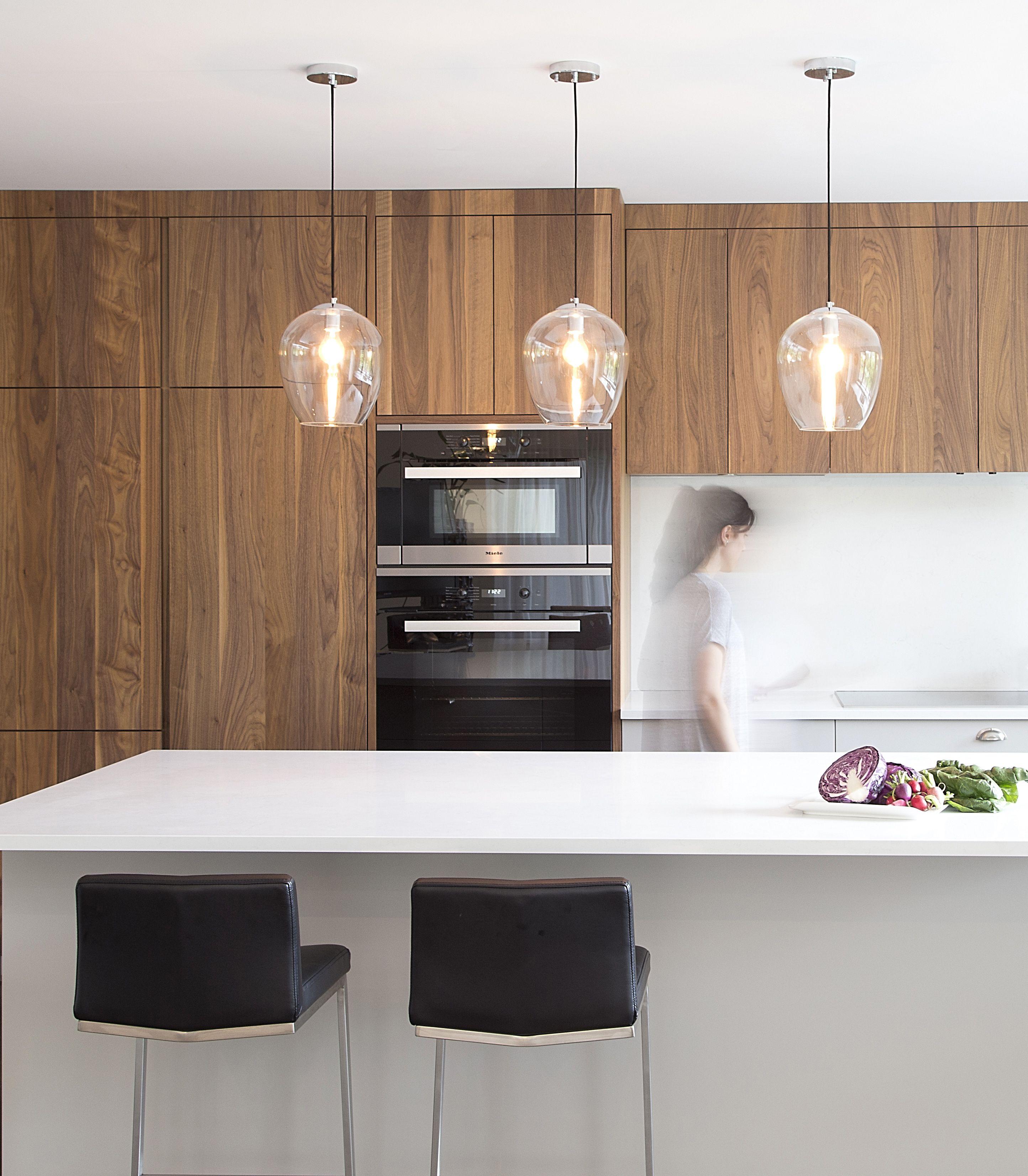 Fabriquer Des Portes D Armoires De Cuisine armoire de cuisine en placage de noyer. kitchen design