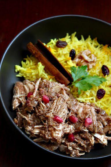 Fesenjan: Persian Pomegranate Walnut Chicken Stew | Walnut ... Persian Pomegranate And Walnut Chicken Stew